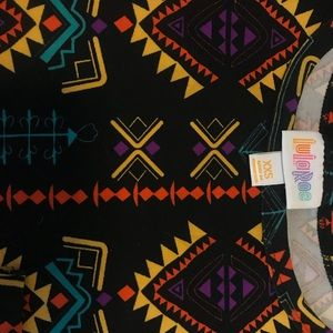 LuLaroe Carly tribal print